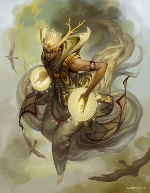 harlecumberbatchsvices:  by Peter Mohrbacher *click to zoom* His most recent stuffwww.vandalhigh.com