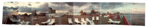 Albert Moser's panoramic photographs go on display at Galerie Christian Berst on July 1. I copyedited a little publication of Moser's photos a few months ago, and installed an exhibition of his drawings at Institute 193 this past January.  If you happen to be in Paris, you should check it out.