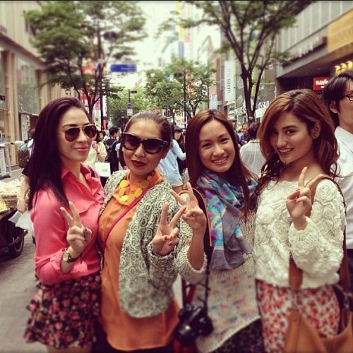Myeongdong shopping day #Korea  (Taken with instagram)