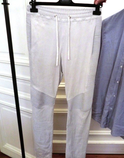 Balmain Homme F/W 2012-2013 - White sweat pants