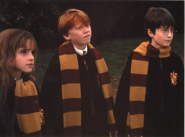 based—on-a-true-story:  Watched Harry Potter marathon this night. 18 fucking hours!! That was fun! :)  I wanted to come to… :(