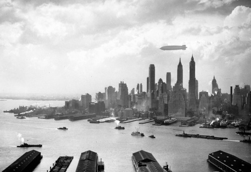 Hindenburg Over NY City