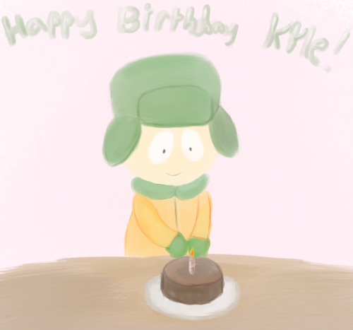 Just a small something for Kyle's birthday.