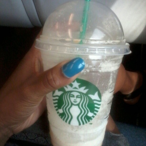 all gone #starbucks #caramelfrappuccino #delish #summeris here #foodie #nofilter  (Taken with instagram)