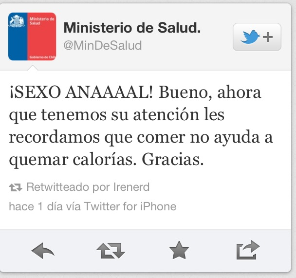 Un community manager muy creativo… Plop!