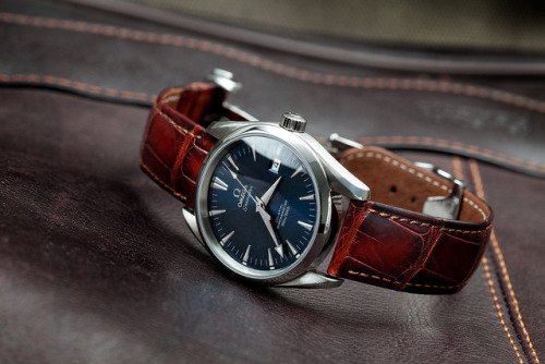 introducingmrbentley:  Omega Aqua Terra. One of the most beautiful Omega watches.