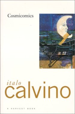 Cosmicomics, Italo Calvino (F, 30s, blonde highlighted hair, black knit bag w skulls, high-heeled sandals, N train) http://bit.ly/JtIqOP