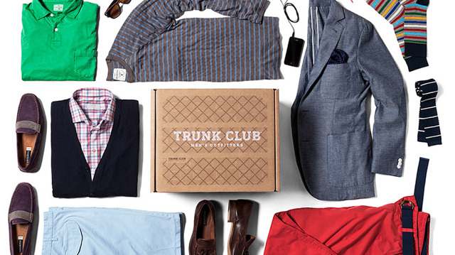 """Trunk Club is a service for men who want to look great without having to go shopping in stores or online. Get started today to receive personalized outfits from a style expert.""  http://goo.gl/m53ZT"
