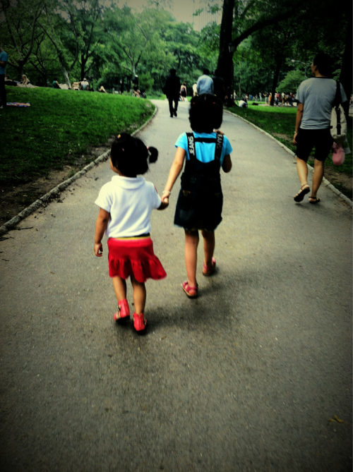 Friendship, Central Park - May 2012