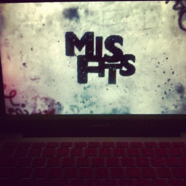 I am obsessing over this show! 😍 #misfits  (Taken with instagram)