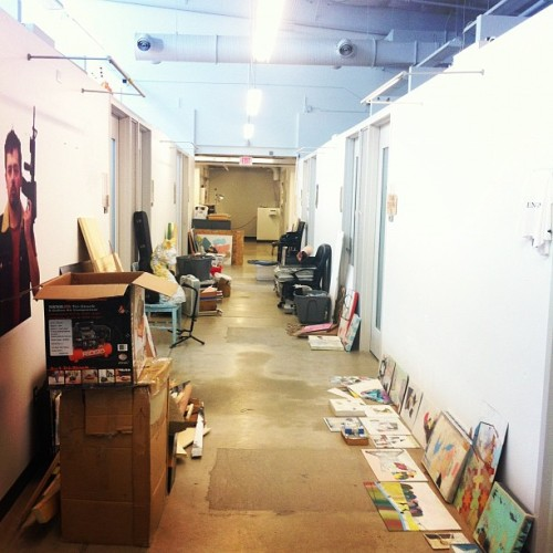 This is only half of the stuff that was in my studio (Taken with instagram)