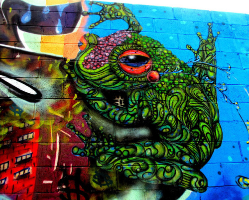 Amazing street art :Eder Muniz in Bushwick by LoisInWonderland on Flickr.