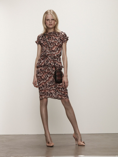 vogue:  Bottega Veneta Resort 2013 Photo: Courtesy of Bottega Veneta Visit Vogue.com for the full collection and review.