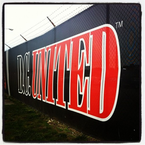 Let's Go DC United!!!! (Taken with Instagram at RFK Memorial Stadium)