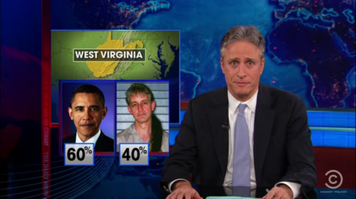 In the West Virginia Democratic primary, Obama lost 40% of the vote to Keith Judd—an inmate at the Beaumont Federal Correctional Facility in Texas. (And no, Republicans are not allowed to vote in the WV Democratic primary—the Democrats and Independents just wanted Judd.) Someone reeeeeally doesn't like Obama.