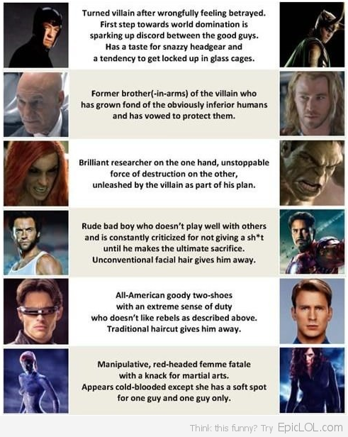 X-Men versus The Avengers