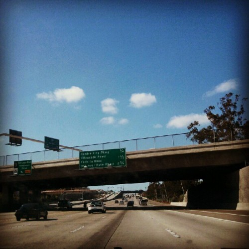 Escondido bound to pick up my things from my old pad. (Taken with instagram)