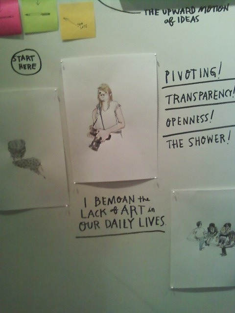 visited the amazing @wendymac show at the @acehotel - really fantastic