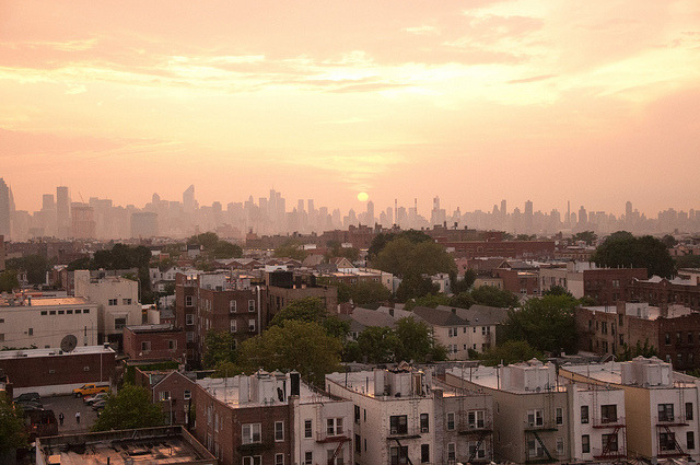 FreeLance-004.jpg on Flickr.Memorial Day Weekend Sunset over Manhattan Skyline as seen from Queens