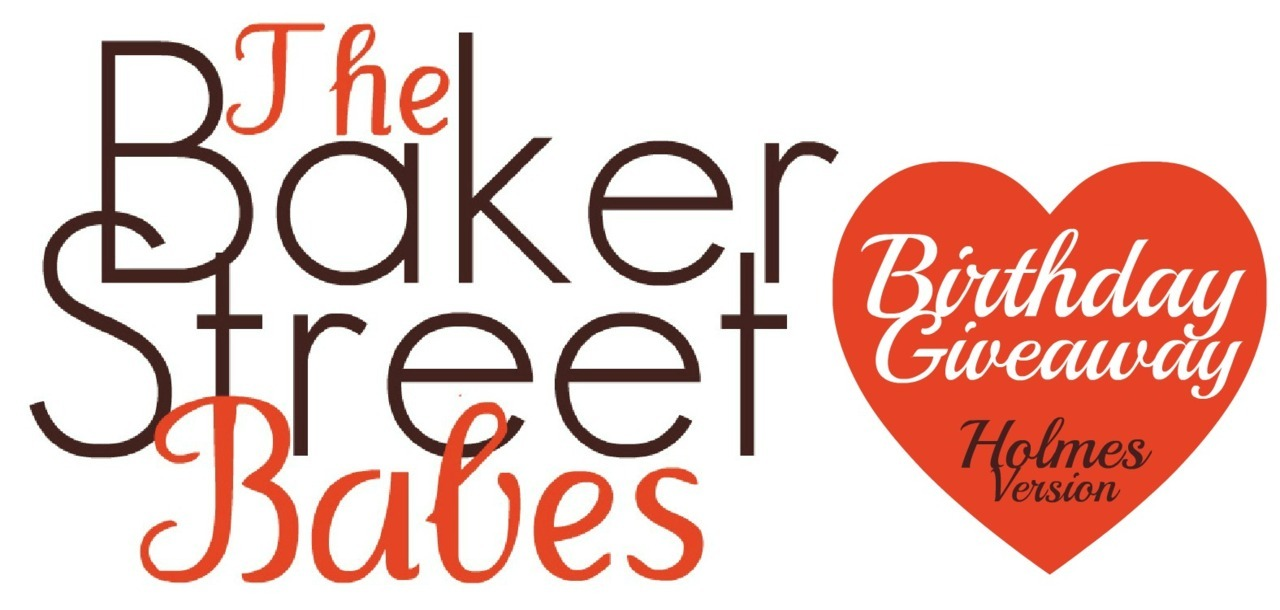 bakerstreetbabes:  The Baker Street Babes Birthday Giveaway: Holmes Version  The Baker Street Babes put our out first podcast one year ago today. Least to say we've come a very long way and it wouldn't have been possible without all of you. So, the past few months we've been gathering prizes and goodies for a MASSIVE giveaway… and here it is!  In this version of the give away you win EVERYTHING below. Yes. EVERYTHING! Sherlock Series 1 DVD, signed by Benedict Cumberbatch & Martin Freeman (donated by Hartswood Films) Sherlock Art Nouveau print (donated by Daunt) Sherlock & John bookmarks (donated by Daunt) Sherlock t-shirt of your choice (donated by Qwertee) Baker Street Journal Spring Issue featuring an interview with Baker Street Babe Curly/Kristina. (donated by The Baker Street Journal) The full Sherlock Holmes Society of London dramatised canon CD set, signed by the actors. (donated by The Sherlock Holmes Society of London) Brainy is the New Sexy pendant in polished brass. (donated by Belaurient Arts) I Believe In Sherlock Holmes pendant in sterling silver. (donated by Belaurient Arts) I Believe In Sherlock Holmes keychain in nickel silver. Please be aware this is made of nickel and if you're allergic to it you now have a free gift to a non-allergen Sherlockian of your choice! (donated by Belaurient Arts) The Detective & The Woman, signed by author Amy Thomas (donated by Amy Thomas) The Illustrated Speckled Band. (donated by Gasogene Books, Wessex Press) My Love Affair With Sherlock magazine by Caitlin Moran. The Sherlock Holmes Handbook by Ransom Riggs Large print of Sherlock & John in a train carriage by reapersun. Pen there for scale. (donated by reapersun) Baker Street mini-sign CD of BigFinish's Sherlock Holmes: The Adventure of the Perfidious Mariner starring Nick Briggs. (Donated by BigFinish) So? How do you win? You may reblog each version ONCE per DAY. The giveaway will run until June 10th. Likes DO NOT COUNT. The winners will be chosen by a random number generator. They will have 24 hours to confirm with their address. The first number wins the Holmes Version, the second number wins the Watson Version. You cannot win both versions of the giveaway. You do not have to be following us, however, this is a present to our followers and listeners, so it's appreciated. Plus we do really cool things like interview Sherlock cast and authors and chat about Sherlock Holmes all the time! If you are following us and win, you'll get an extra special gift on top of all of this! Any questions, naturally just ask. We'd prefer if you'd send an ask not anonymously so we can reply privately and not clog up people's dashes.  You can listen to our podcasts [HERE]! Follow us on twitter at @BakerStBabes Like us on facebook [HERE]! And visit our website [HERE]!
