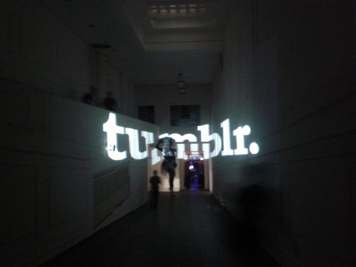 Descent into the Tumblr launch, Sao Paulo.