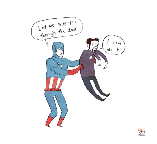 gingerhaze:  Nope not done with Avengers