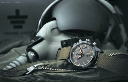 typicalbeast:  Top Gun Chronogrpah http://typicalbeast.tumblr.com/