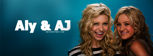 Aly & AJ Facebook Covers