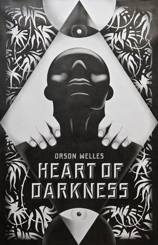 Heart of Darkness poster by design studio, La Boca