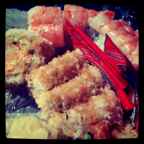 Sushi :DD #bonsaiteriyaki #numnums #sushi #bomb (Taken with instagram)