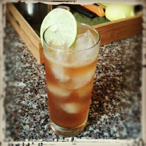 Dark & Stormy. (Taken with instagram) afternoon cocktail time.