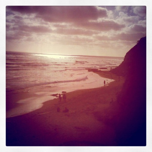 Lovely scene at Swami's #Beach (Taken with Instagram at Swami's Beach)