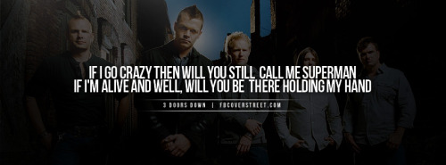 3 Doors Down Facebook Covers