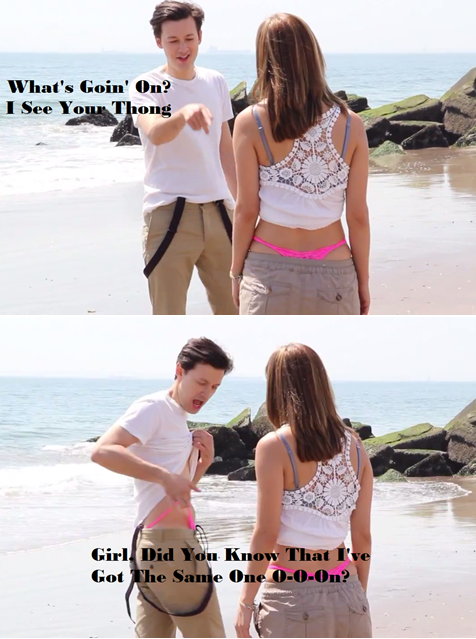 thatswhyilaughedbitch:  Key of Awesome Parody - One Direction's What Makes You Beautiful