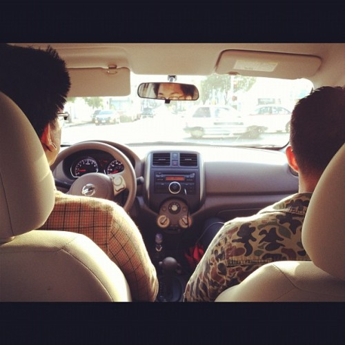 Cruisin' SF w/ @moosethecoolest @speakproper @beatsbyesta & @innercircle. (Taken with instagram)