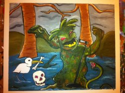 fuckyeahprofessorblastoff:  SWAMP ROCK by Andie Main