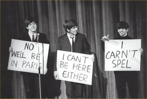 The Beatles were well cool.
