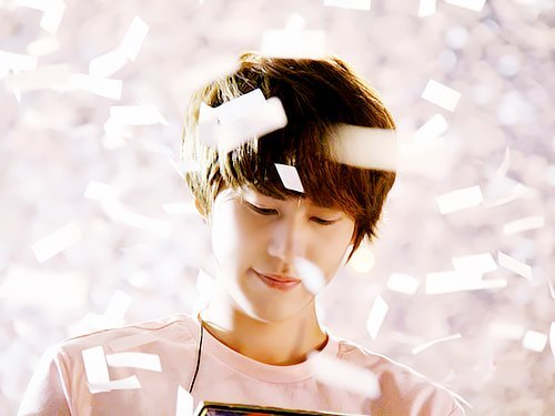 Happy 6th anniversary with SuJuCho KyuHyun S A R A N G H A E  ♥ Well, 6 years ago, there's this one guy joined a group called Super Junior. Being the 13th member and complete the group. The one who hold his tears when Super Junior won their first mutizen award for their song titled 'U' until the leader …hugged him and told him he's a part of Super Junior, the worst chef among the members, the one who always threat his hyungs like they are the same age as him, the one and only evil maknae ever, the one who complained having 13 members in one group is too much even he IS the 13th member, the one who never hesitate when he was asked the question if Leeteuk is the person he respect the most, the one who have this smoothing voice… he is no other than Cho Kyuhyun :') SonELForever~ @ Twitter/Facebook