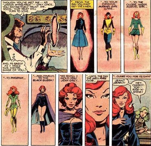 Mastermind's Jean Grey Fashion Retrospective The Uncanny X-Men, #125