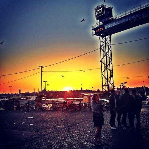 theboywunda:  Beautiful Morning In Stockholm (Taken with instagram)