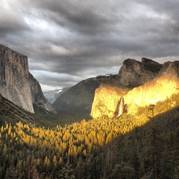 #yosemite #tunnel view (Taken with instagram)