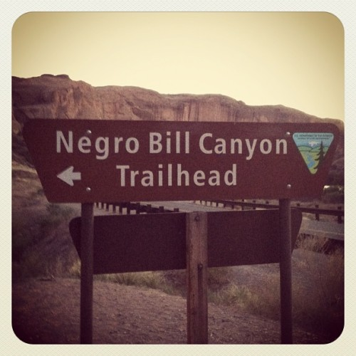 flymelissafly:  Is this…. Appropriate? #moab #utah (Taken with instagram)  see, its funny cuz there arent any niggers in utah