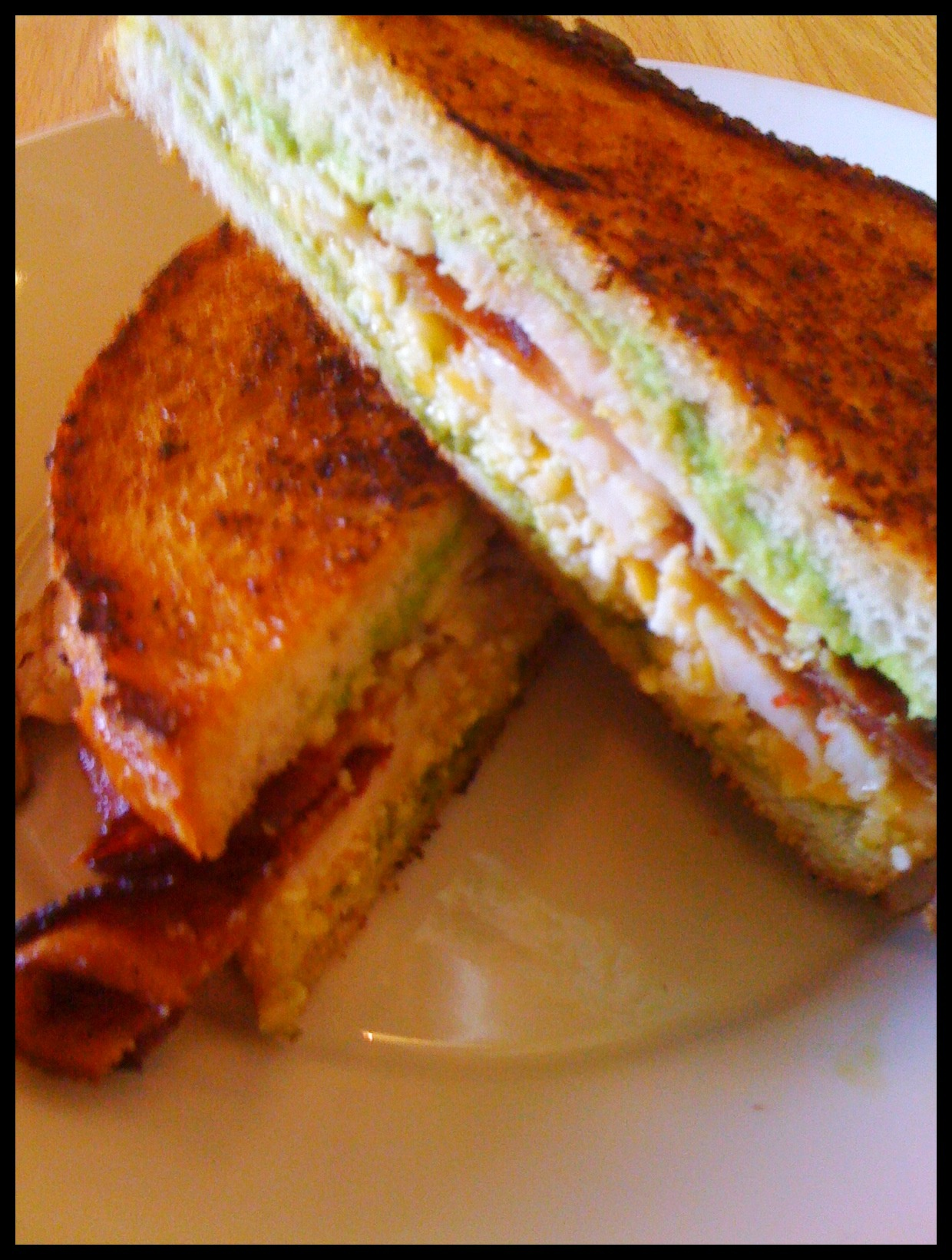Sandwich from Custom Melt, Moorpark, California.