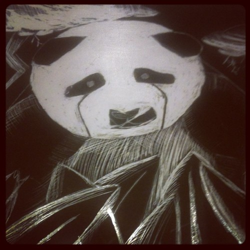 My princess drew this @nirvanalove  (Taken with instagram)
