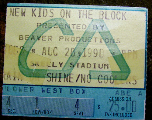 My first concert.  Magic Summer 1990.  Skelly Stadium (Tulsa, OK)