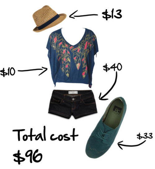Untitled #6 by spotojessica featuring a fedora hatFeather top, $9.90Shorts, $40BC Footwear flat shoes, $33Forever 21 fedora hat, $13