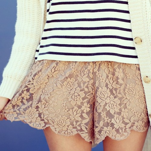 A little touch of lace today in @saboskirt  (Taken with instagram)