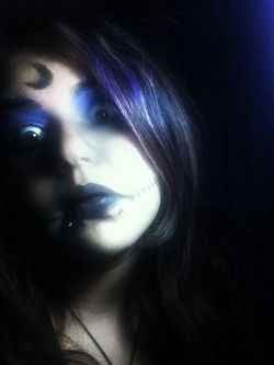 I was bored and had some extra makeup. Sooo.. yeah.