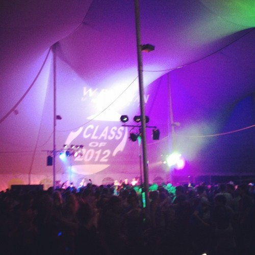 Taken with instagram  Last night at Wesleyan, class of 2012