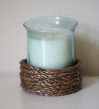 Rope Candle Holders